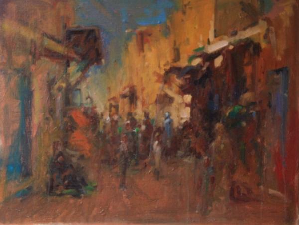 street-scene-kharga-oasis-egypt